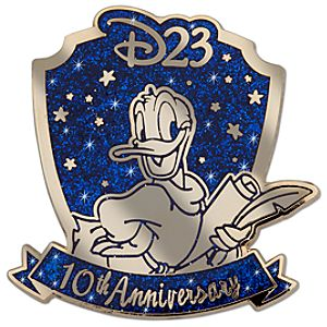 D23 Membership Exclusive Fantasia 2000 10th Anniversary Pin