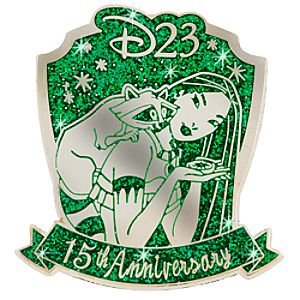 D23 Membership Exclusive 15th Anniversary Pocahontas Pin