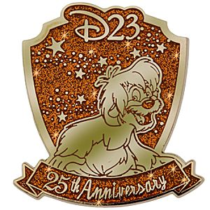 D23 Membership Exclusive 25th Anniversary The Black Cauldron Pin