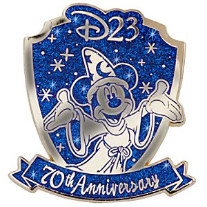 D23 Membership Exclusive 70th Anniversary Fantasia Pin