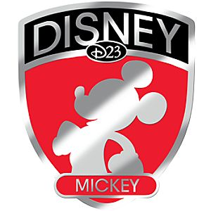 D23 Membership Exclusive Fab 5 Shield Series Mickey Mouse Pin