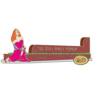 D23 Membership Exclusive Studio Series Jessica Rabbit Gate Pin