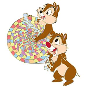 Candy Series Chip an Dale Pin