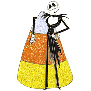 Candy Series Jack Skellington Pin