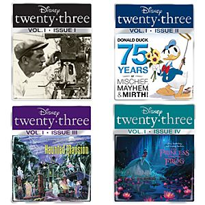 D23 Magazine Cover Pin Set -- 4-Pc.