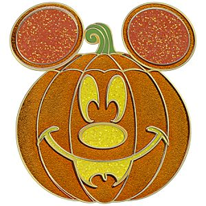 Jack-o-Lantern Mickey Mouse Pin