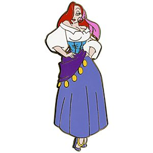 Limited Edition Jessica Rabbit as Esmerelda Pin