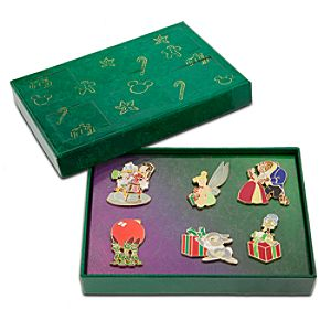Disney Advent Pin Set 1 -- 6-Pc.