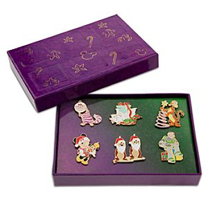 Disney Advent Pin Set 2 -- 6-Pc.