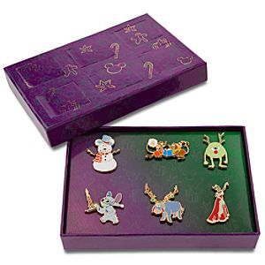 Disney Advent Pin Set 3 -- 6-Pc.
