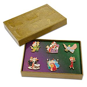 Disney Advent Pin Set 4 -- 6-Pc.