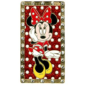 Rhinestone Minnie Mouse Pin