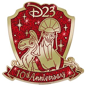 D23 Membership Exclusive 10th Anniversary The Emperors New Groove Pin