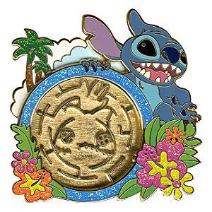 Maze Stitch Pin