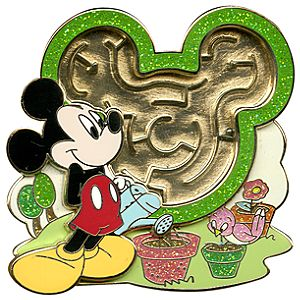 Maze Mickey Mouse Pin