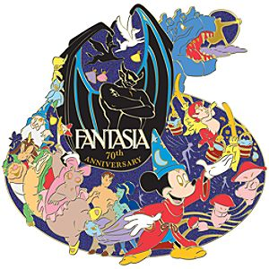 Jumbo 70th Anniversary Fantasia Pin