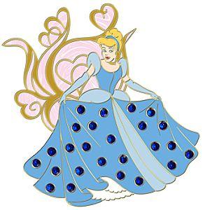 Jumbo Pavé Princess Cinderella Pin