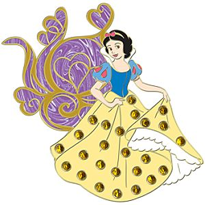 Jumbo Pavé Princess Snow White Pin