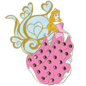 Jumbo Pavé Princess Aurora Pin