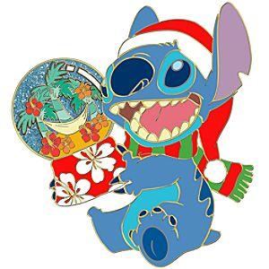 Santa Stitch Pin