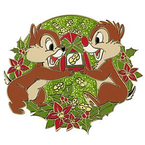 Holiday Chip an Dale Pin