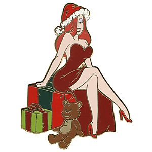 Santa Claus Series Jessica Rabbit Pin