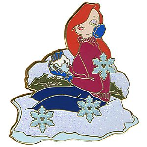 Snowball Series Jessica Rabbit Pin