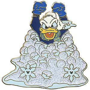 Snowball Series Donald Duck Pin
