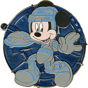 TRON Series Mickey Mouse Pin