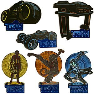 TRON: Legacy Pin Set -- 6-Pc.