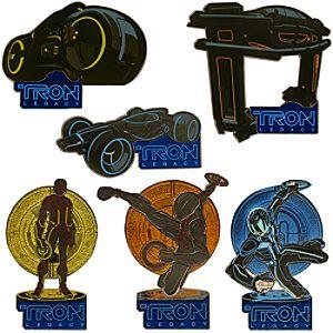 TRON: Legacy Pin Set -- 6-Pc.