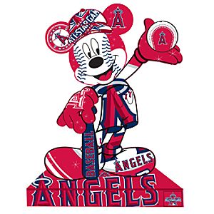 Los Angeles Angels Mickey Mouse Pin