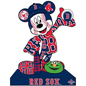 Boston Red Sox Mickey Mouse Pin