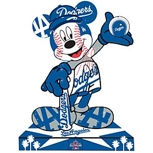 Los Angeles Dodgers Mickey Mouse Pin