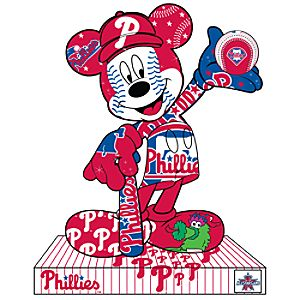 Philadelphia Phillies Mickey Mouse Pin