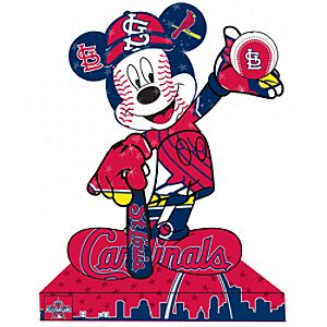 St Louis Cardinals Mickey Mouse Pin