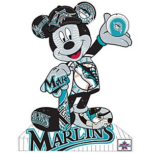 Florida Marlins Mickey Mouse Pin