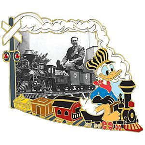 110th Legacy Collection Walt Disney and Donald Duck Pin