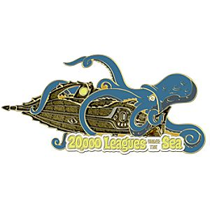 110th Legacy Collection 20,000 Leagues Under the Sea Pin