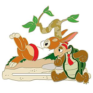 110th Legacy Collection The Tortoise and the Hare Pin