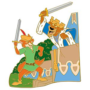 110th Legacy Collection Prince John and Robin Hood Pin