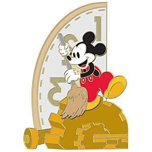 110th Legacy Collection Clock Cleaners Mickey Mouse Pin