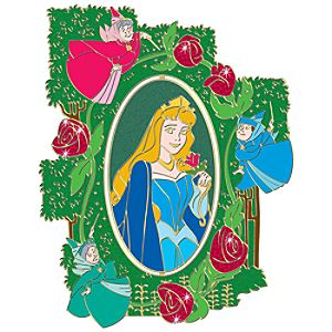 110th Legacy Collection Spinner Sleeping Beauty Pin