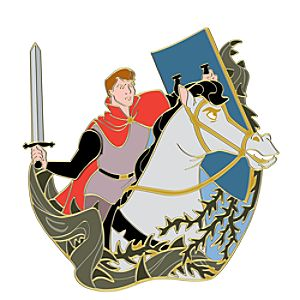 110th Legacy Collection Prince Phillip Sleeping Beauty Pin