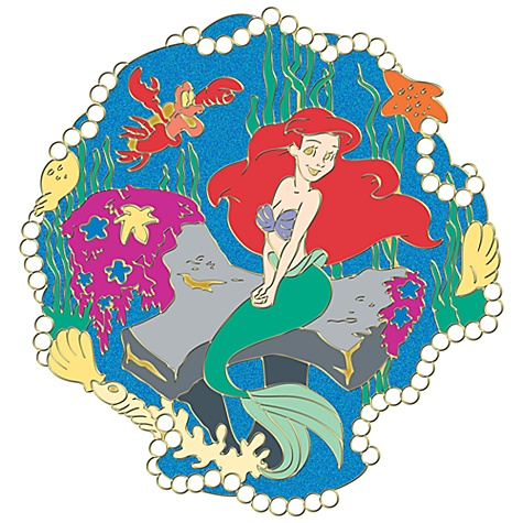 110th Legacy Collection The Little Mermaid Pin