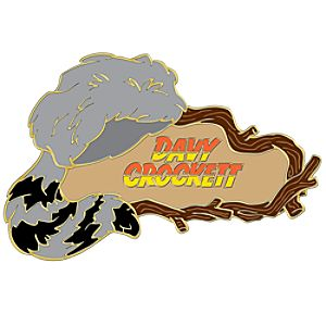 110th Legacy Collection Davy Crockett Pin