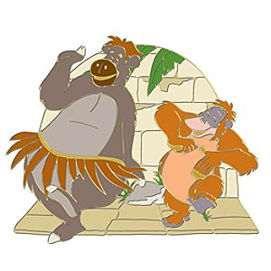 110th Legacy Collection The Jungle Book Pin