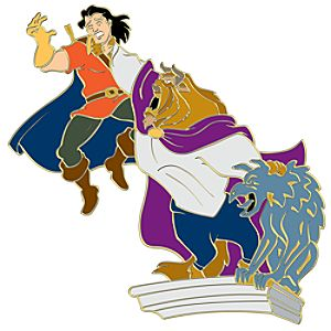 110th Legacy Collection Gaston & Beast: Beauty and the Beast Pin