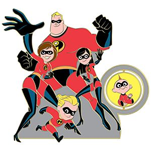 110th Legacy Collection The Incredibles Pin
