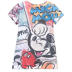 Disney Nostalgia Mickeys Nightmare Tee for Girls